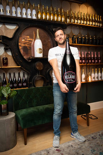 Visiting Luc Belaire in New York