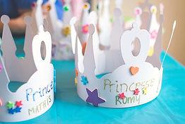Fête princesse, fête à domicile