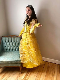 Fête princesse Belle, animation princesse