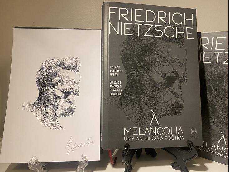 """Friedrich Nietzsche """"À Melancolia - uma antologia poética"""". Edição Especial"""