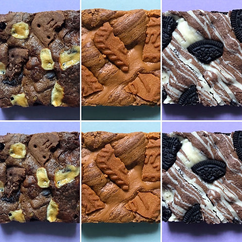 MIXED BISCUIT BROWNIE BOX