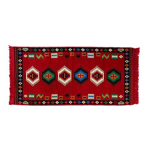 "Turkish Kilim Rug for Living Room, Bedroom, and Bathroom, Decorative 31.5"" x 59"""