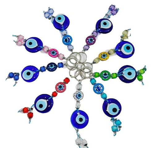 Evil Eye Keychain - Maxi Stone