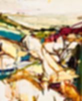 Abiquiu, oil on linen,20 x 22, 2012 .jpg