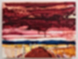 Sky Interrupted 11, oil on wood panel, 1