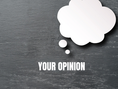 Don't just shrug…I asked your opinion.