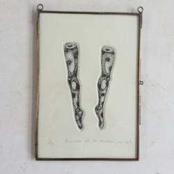 お人形の脚