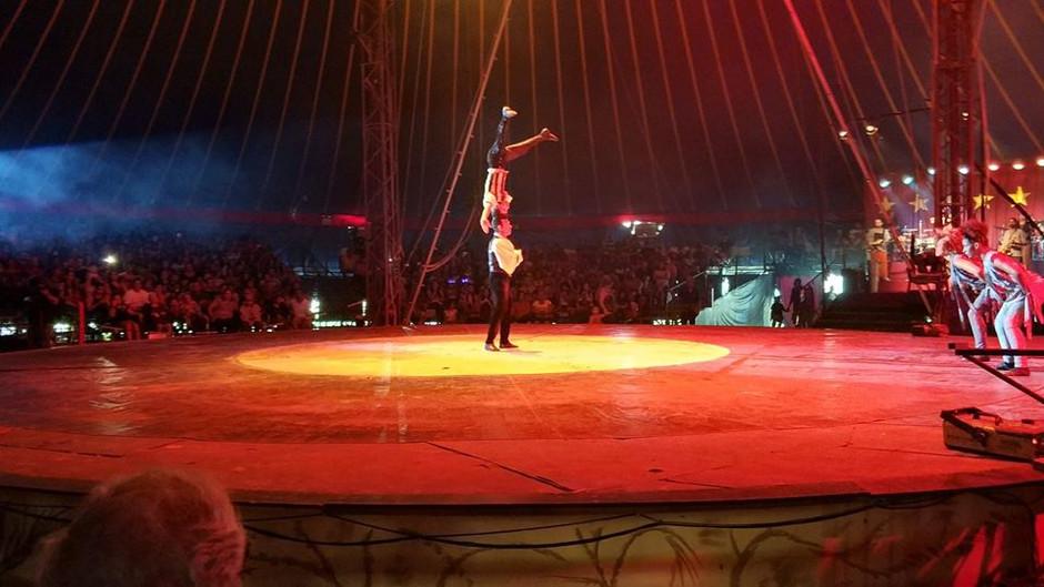 Passeio ao circo Marcos Frota