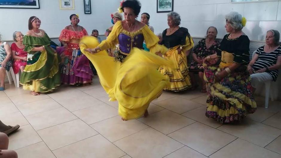 Festa Cigana no Chalé da Vovó.