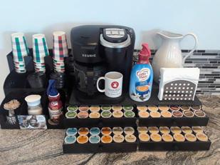 Coffee & beverage station