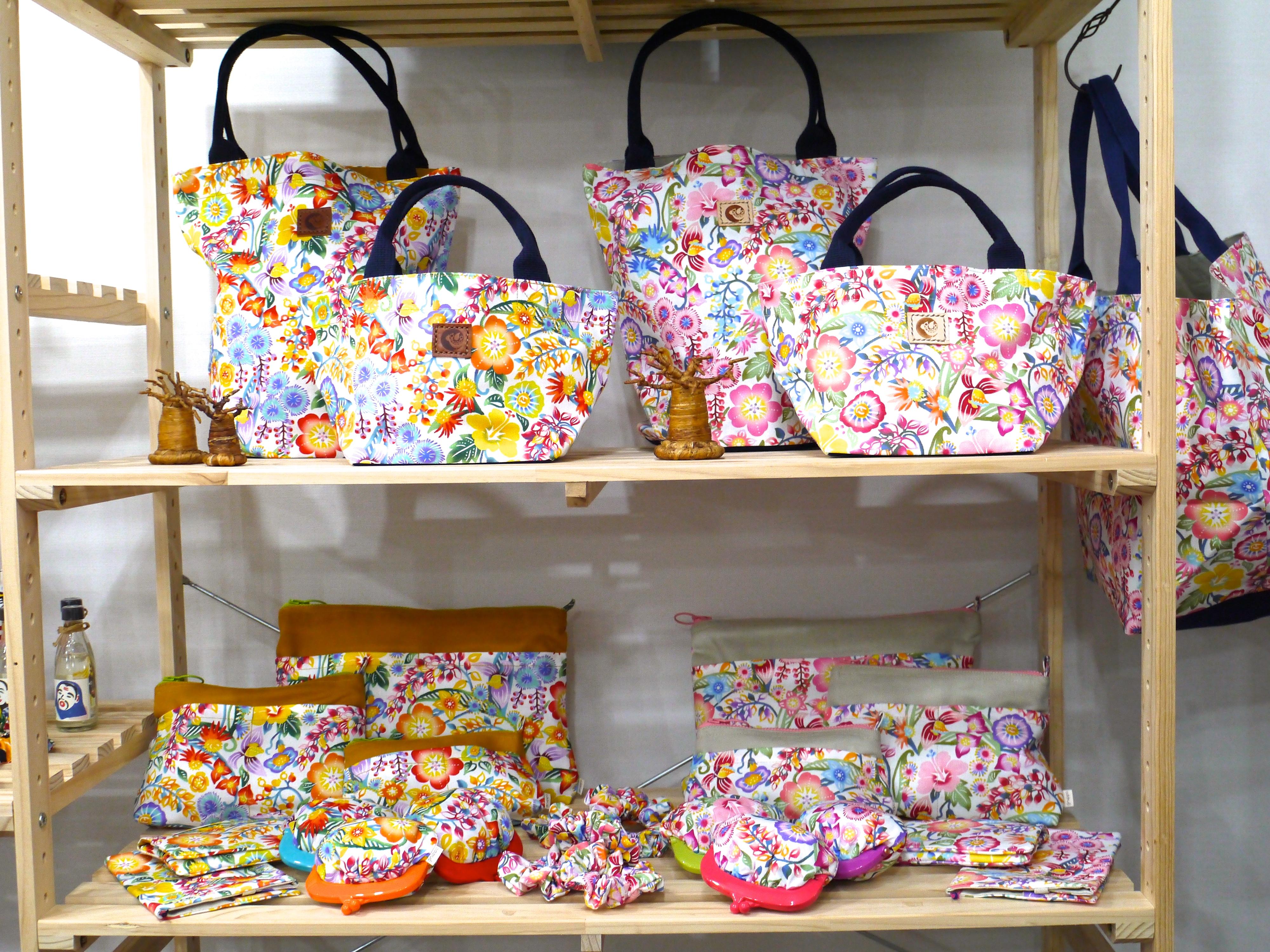 沖縄の花たち バッグ