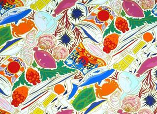 MIMURIさんデザインの『気仙沼の海』柄が仲間入りしました☆