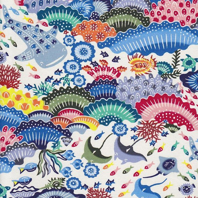 虹亀さんデザイン『沖縄の珊瑚礁』