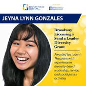 Broadway Licensing's Send a Leader Diversity Grant