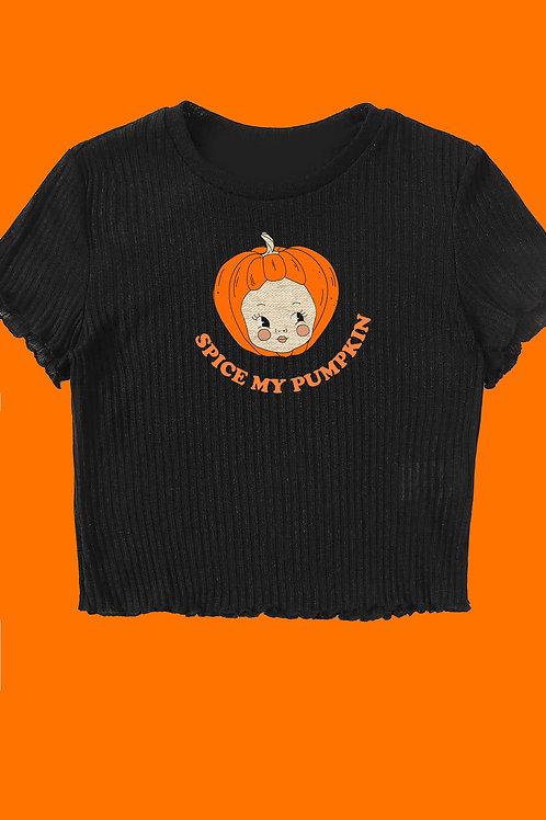 Spice Up My Pumpkin Top