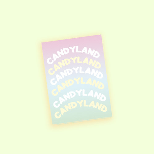 Candyland Stickers