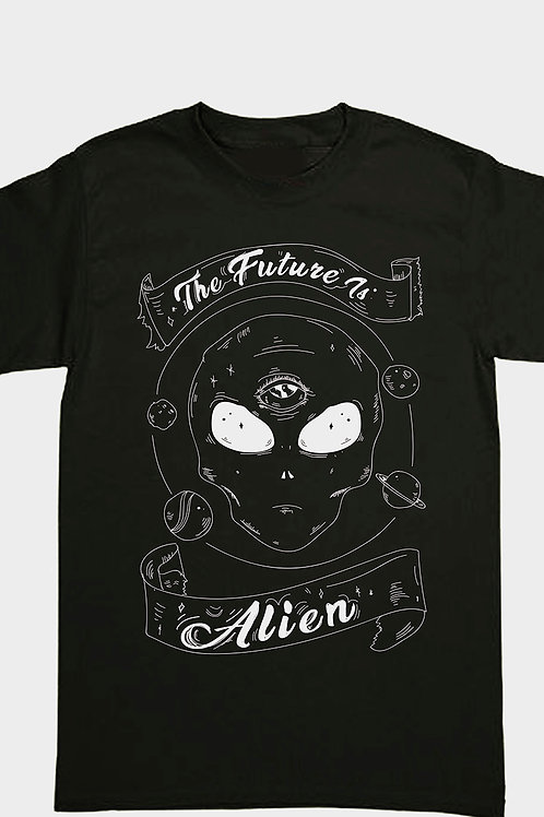 The Future Is Alien Shirt