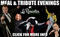 La Romantica Meal & Tribute Evenings