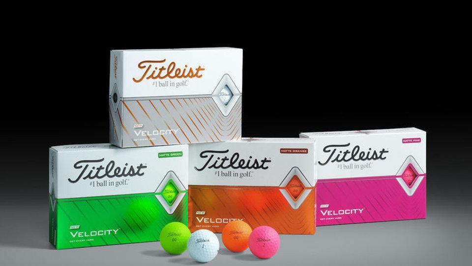 Titleist Velocity Golf Balls (Dozen)