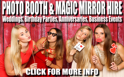 Photo Booth & Magic Mirror Hire
