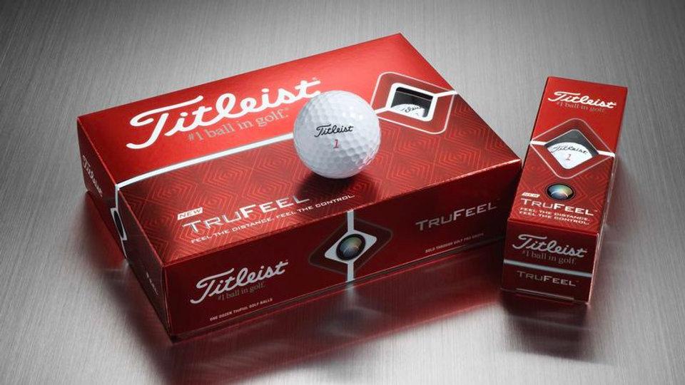 Titleist Trufeel Golf Balls (Dozen)