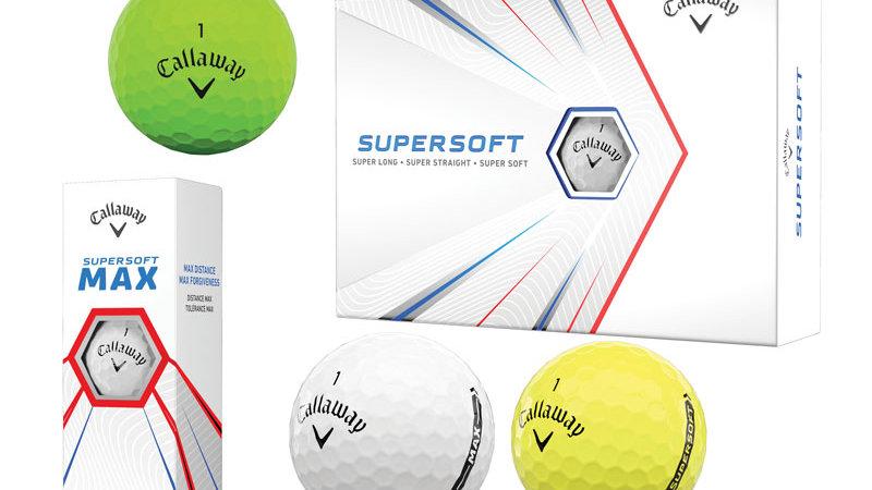 Callaway Supersoft Golf Balls (Dozen)