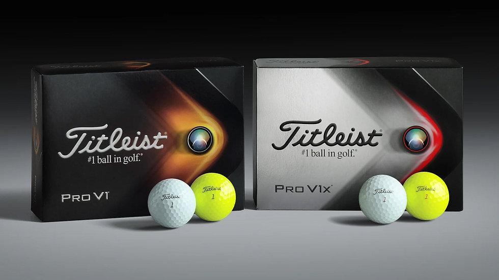Titleist Pro V1x Golf Balls (Dozen)