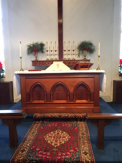 2016 Altar Christmas