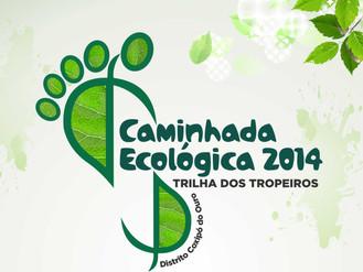 Caminhada Ecológica 2014 - Trilha dos Tropeiros