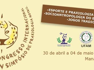 Congresso em Manaus de 30 de abril a 04 de maio.