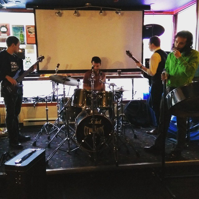 Instagram - The guys of Novalatte doing some sound check.jpg