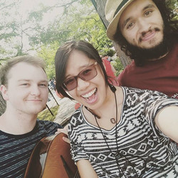 Instagram - Busking at the farmer's market! :D #music #summer