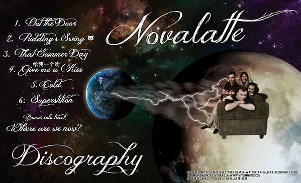 Novalatte Discography Song List