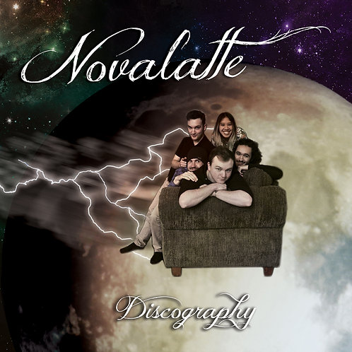 Novalatte : Discography EP (Physical CD)