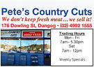 Pete's Country Cuts