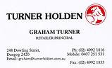 Turner Holden Dungog