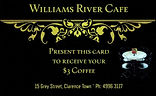 Williams River Cafe Clarence Town