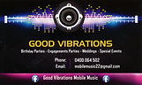 Good Vibration Mobile Music Dungog