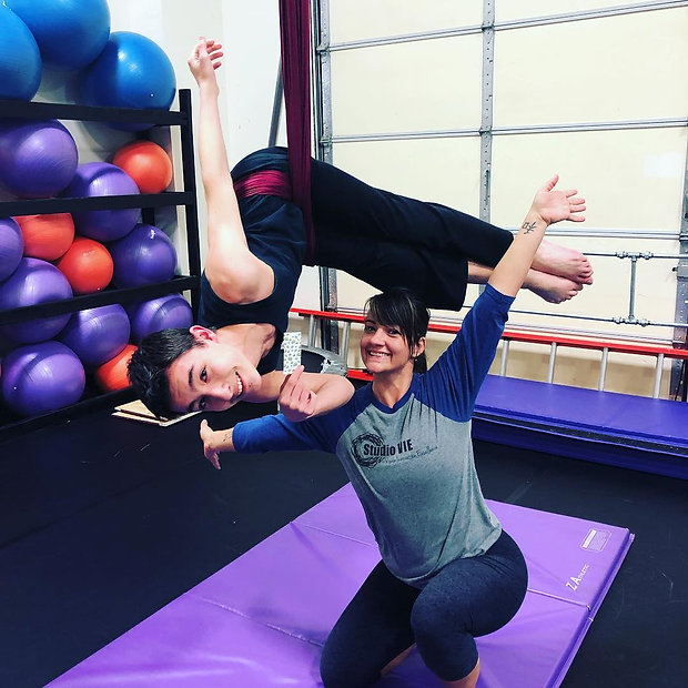Teen Classes for fitness and tumbling