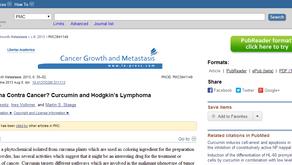 CURCUMA CONTRA CANCER? CURCUMIN AND HODGKIN'S LYMPHOMA