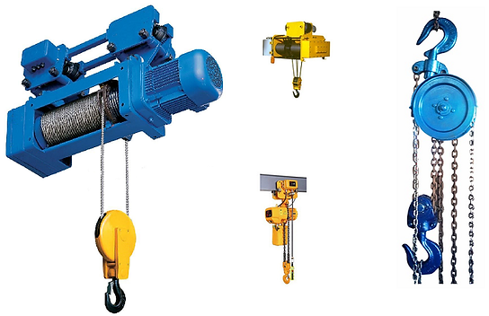 Electric Wire Rope Hoists From JAPS Project