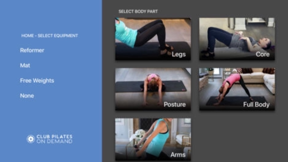 Club Pilates on Demand App