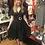 Thumbnail: 194Os Inspired Black & White Dot Dress