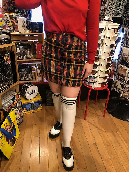 1960s schoolgirl mini-skort