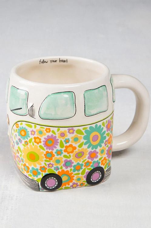 Flower Van Mug