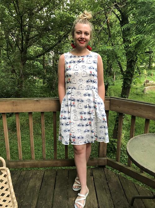 Summer Fun Bicycle 🚲 Print Dress!