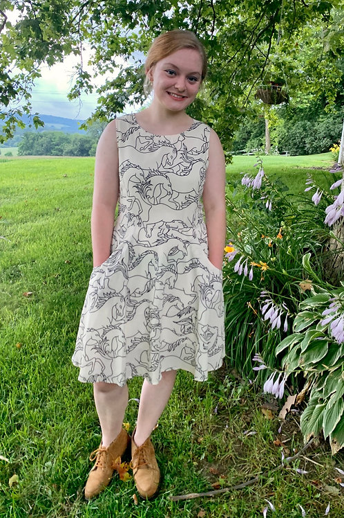 Whimsical Horse Dress