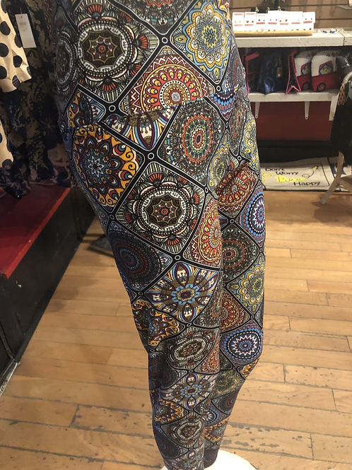 Kaleidoscope Design Leggings       Buy 2 leggings for $19.99