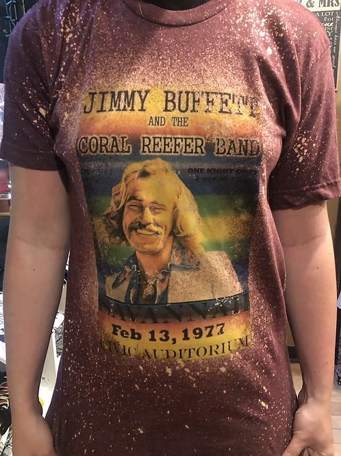 Jimmy Buffett Concert Venue Poster Tee Shirt