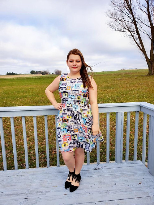 Camera Cutie dress